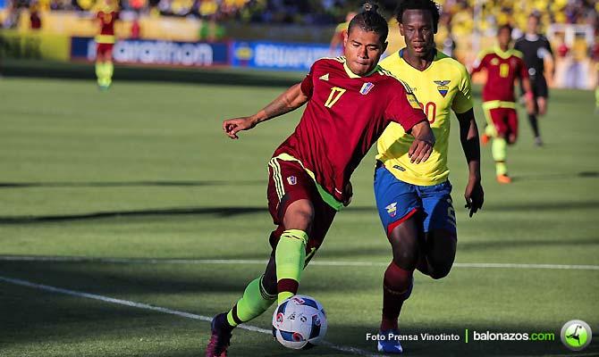 Venezuela jugará amistosos con Estados Unidos y Ecuador en junio