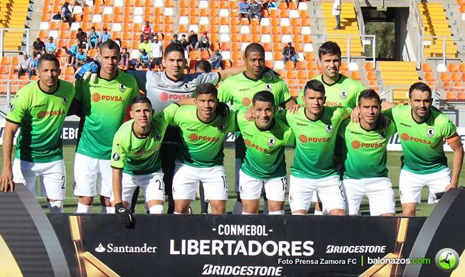 Guaraní vence al Zamora y es ahora segundo del Grupo 8 — Libertadores