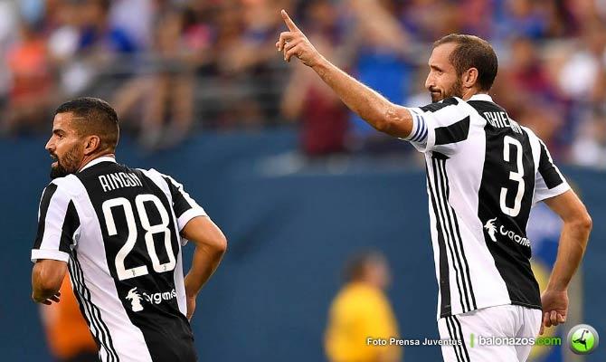 Higuaín aportó un gol en la victoria de la Juventus