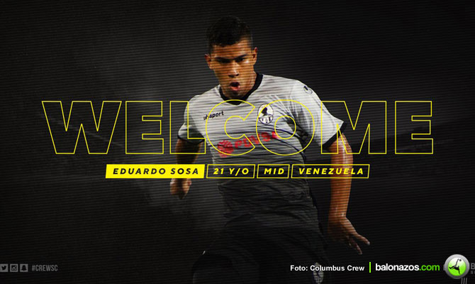 Eduardo Sosa es el octavo criollo que jugará en la MLS