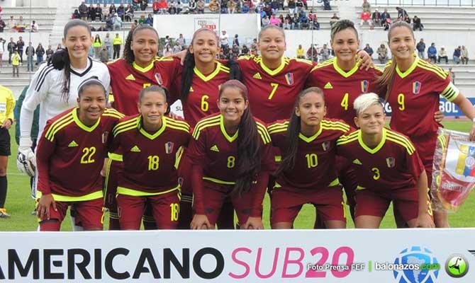 Venezuela ganó primer encuentro de Fútbol Femenino Sub-20